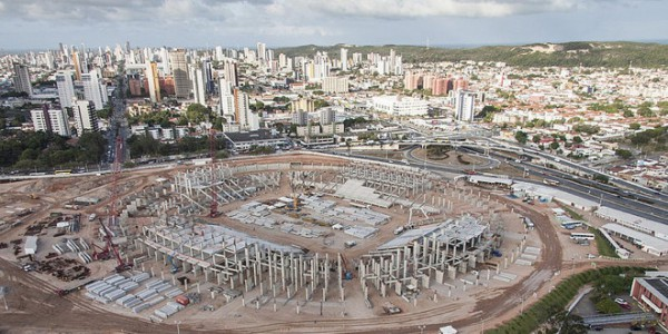 dunas arena in natal wm 2014 stadion brasilien. Black Bedroom Furniture Sets. Home Design Ideas