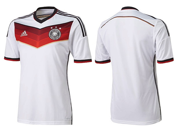 wm trikot 2014 des dfb so sieht das deutschland trikot. Black Bedroom Furniture Sets. Home Design Ideas